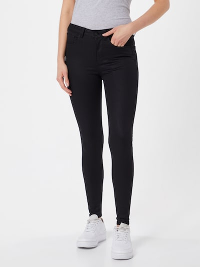 TOM TAILOR DENIM Jeans 'Nela' in black denim, Modelansicht