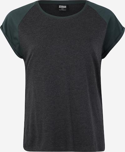 Urban Classics Curvy Koszulka w kolorze ciemnoszary / zielonym, Podgląd produktu