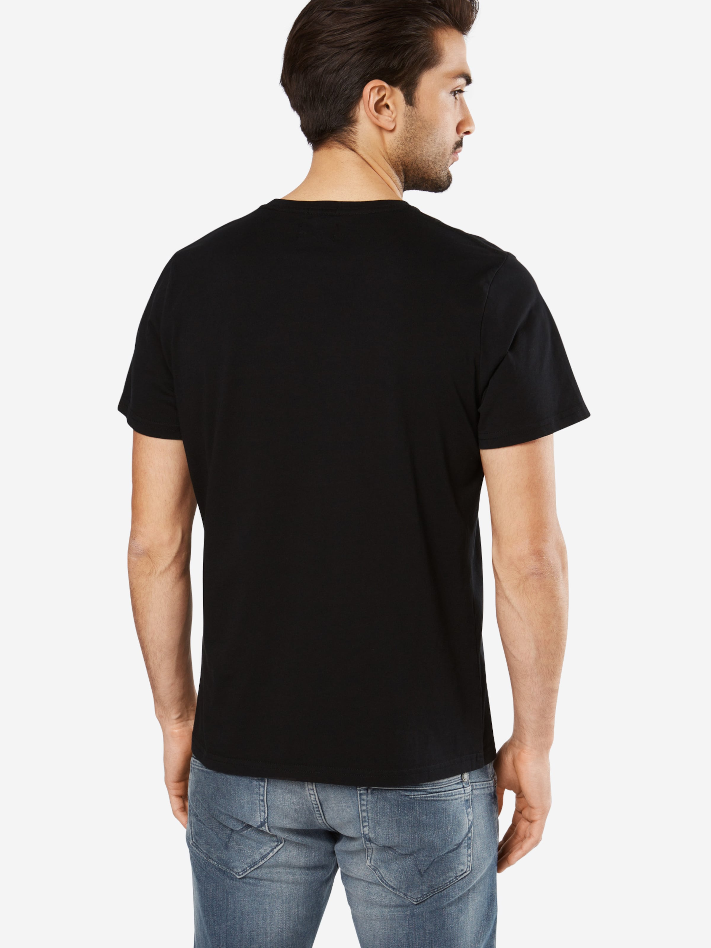 Pepe Jeans T NoirBlanc 'eggo' En shirt qzMSUVp
