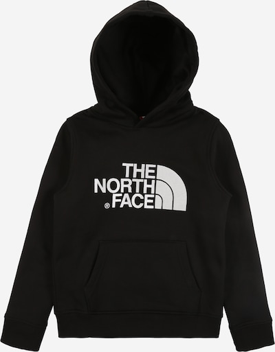 THE NORTH FACE Sweat-shirt en noir / blanc, Vue avec produit