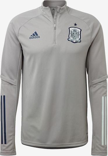 ADIDAS PERFORMANCE Trainingsshirt 'Spanien' in grau: Frontalansicht