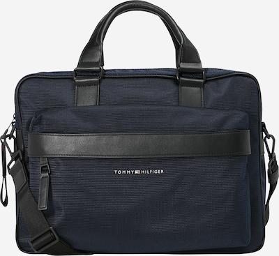 Borsa per laptop TOMMY HILFIGER di colore blu scuro / nero / bianco, Visualizzazione prodotti