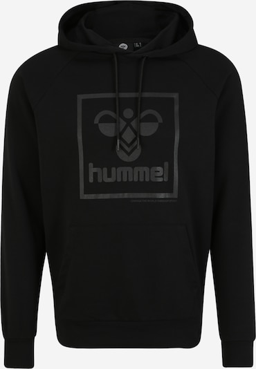 Hummel Sportsweatshirt in grau / schwarz, Produktansicht
