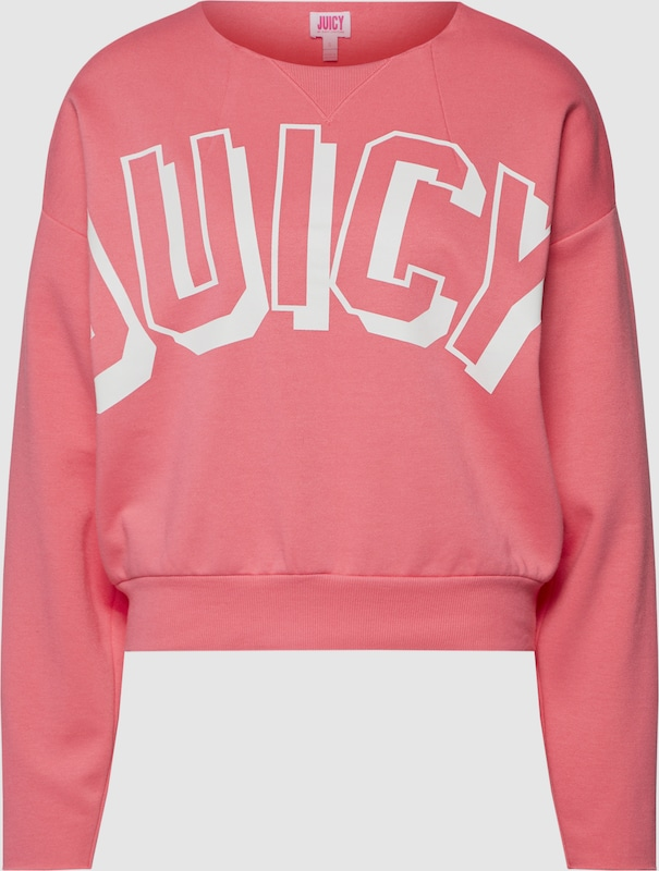 Juicy by Juicy Couture Pullover in Rosa   weiß  Neuer Aktionsrabatt