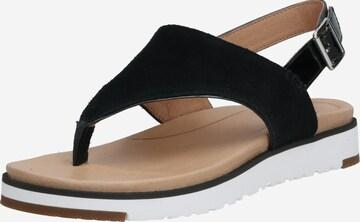Flip-flops 'ALESSIA' de la UGG pe negru