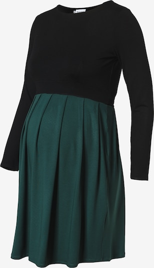 Bebefield Umstandskleid in smaragd / schwarz, Produktansicht