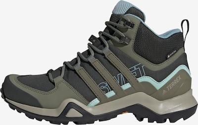 ADIDAS PERFORMANCE Lage schoen in de kleur Blauw / Olijfgroen / Zwart, Productweergave