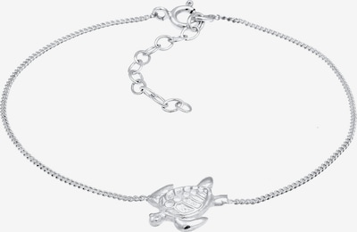 ELLI Armband Schildkröte in silber: Frontalansicht