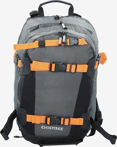 CHIEMSEE Rucksack in grau / hellorange, Produktansicht