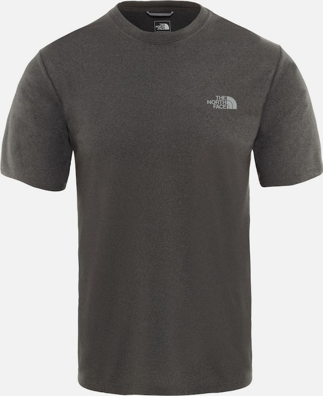 THE NORTH FACE Shirt 'Reaxion' in grau / anthrazit, Produktansicht