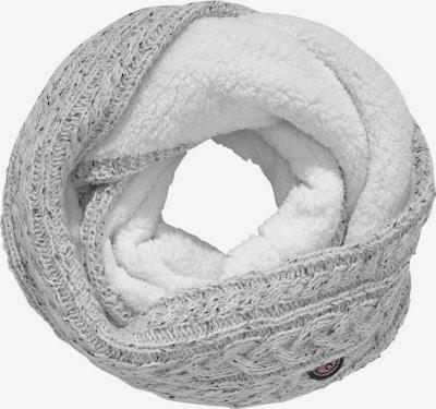 Superdry Écharpe tube en gris clair, Vue avec produit