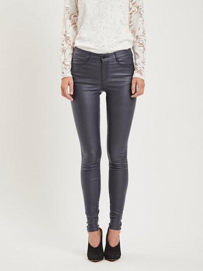 VILA Jeans 'Coated' in de kleur Nachtblauw, Modelweergave