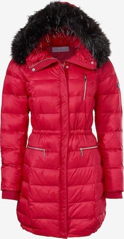 heine Winter Coat in Red