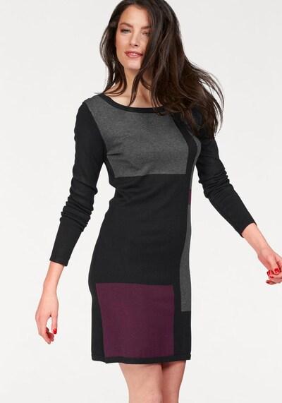 VIVANCE Strickkleid in schwarz, Modelansicht