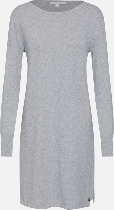 Tom Denim Knit' Gris Robe 'basic En Chiné Tailor OPX80NnZwk