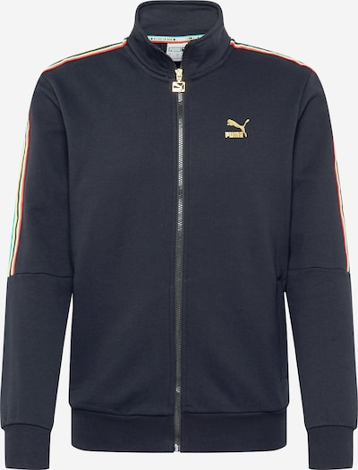 PUMA Sweatjacke 'TFS Worldhood Track Top FT' in mischfarben / schwarz, Produktansicht