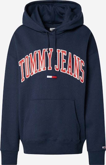 Tommy Jeans Hoodie 'COLLEGIATE' in navy, Produktansicht