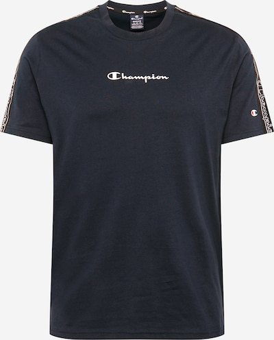 Champion Authentic Athletic Apparel Shirt in de kleur Nachtblauw / Zwart / Wit, Productweergave