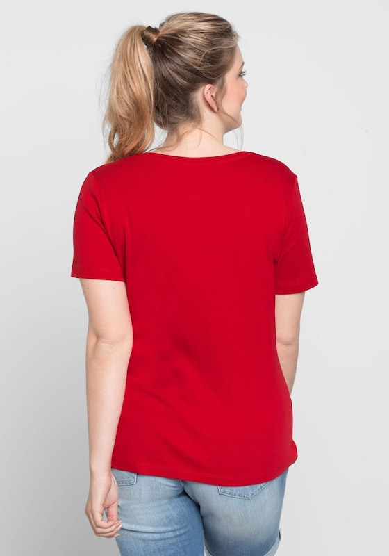 sheego Basic Basic T-Shirt