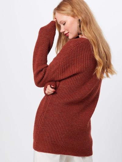basic apparel Džemperis 'Fadime' pieejami sarkans: Aizmugures skats