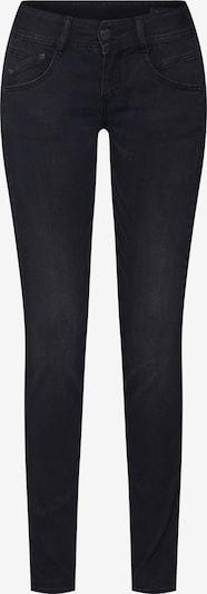 Jeans 'Gila Slim Wool Denim Black' Herrlicher pe negru, Vizualizare produs