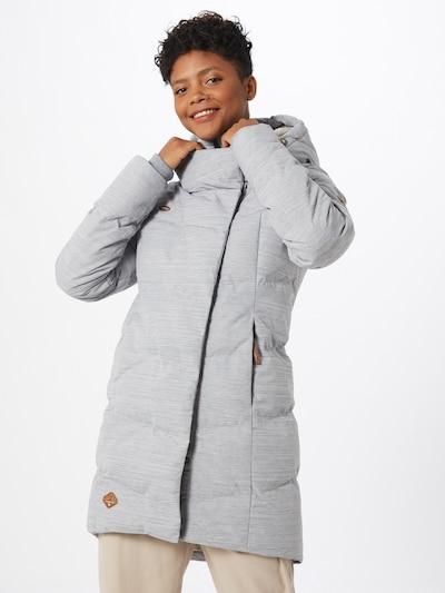 világosszürke Ragwear Télikabátok 'PAVLA', Modell nézet