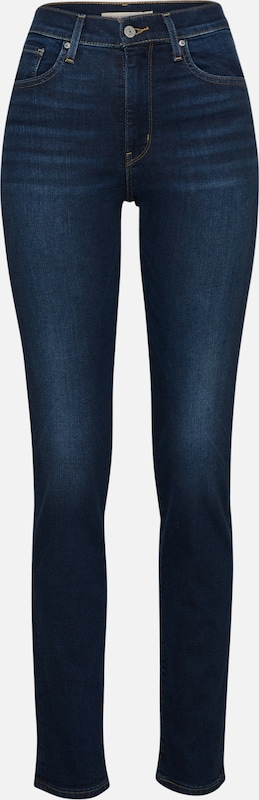 LEVI'S Jeans '724™ HIGH RISE STRAIGHT' in blue denim, Produktansicht