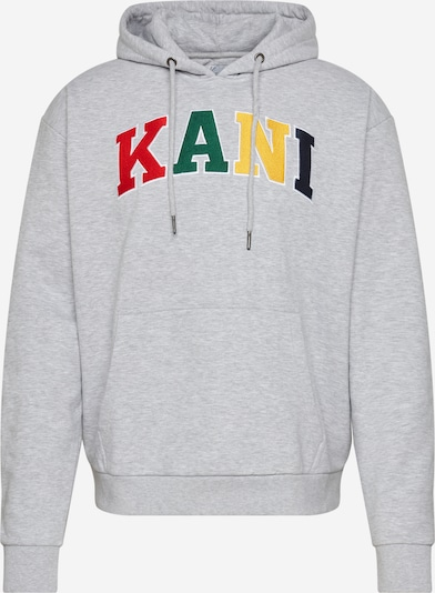 Karl Kani Sweatshirt 'KK SERIF HOODIE' in grau / mischfarben, Produktansicht