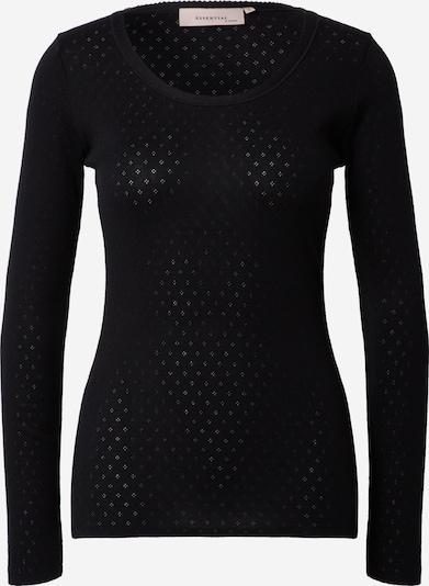 Noa Noa T-shirt en noir, Vue avec produit