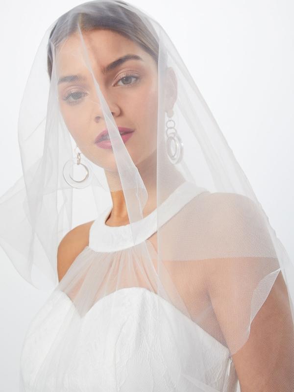 Halterneck Y Blanc De Robe Soirée a s 'yaswonder Dress' En 8nwOPk0NXZ