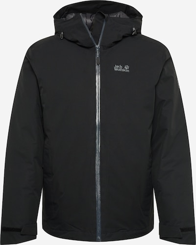 JACK WOLFSKIN Sportjas 'Argon' in de kleur Zwart, Productweergave