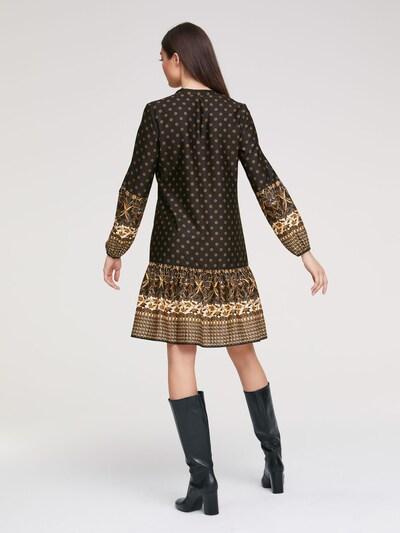 heine Sukienka w kolorze beżowy / jasnobrązowy / ciemnobrązowym: Widok od tyłu