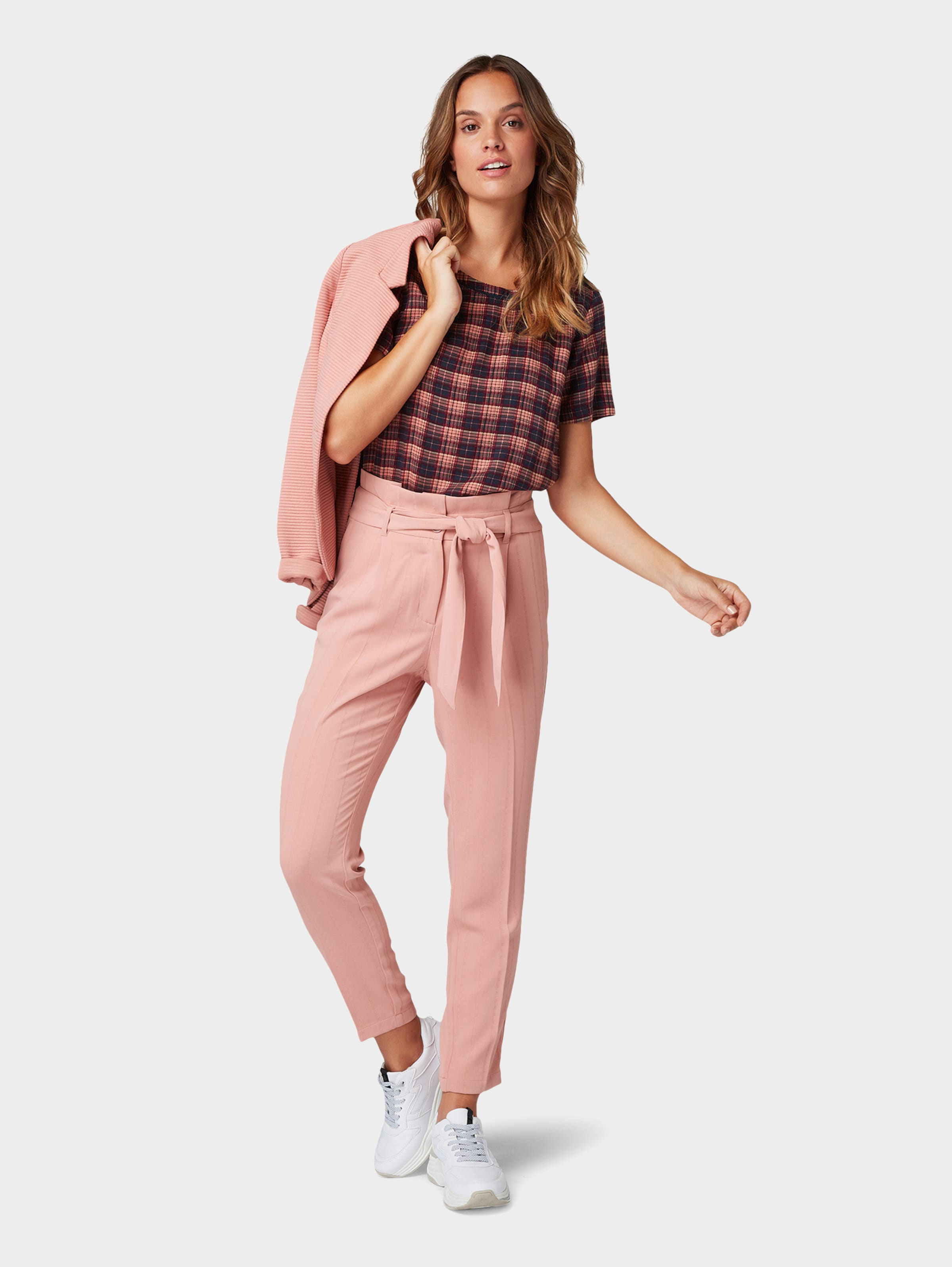 Tailor DunkelblauApricot DunkelblauApricot In In Tom Bluse Tailor Tom Bluse Tom gyY6bf7