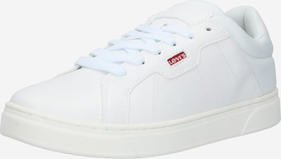 LEVI'S Baskets basses en blanc: Vue de face