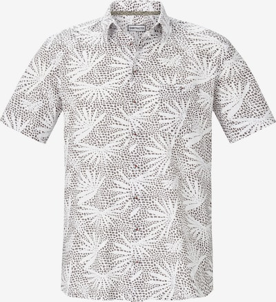 Shirtmaster Chemise 'Honoluludream' en blanc: Vue de face