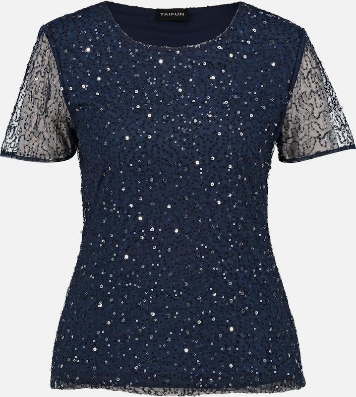 TAIFUN T-Shirt in nachtblau  Markenkleidung für Männer und Frauen