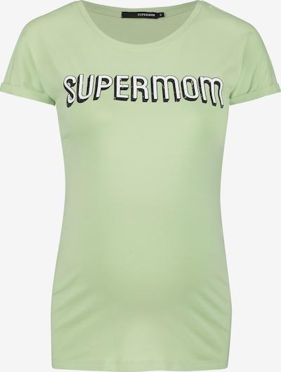 Supermom T-shirt in hellgrün, Produktansicht