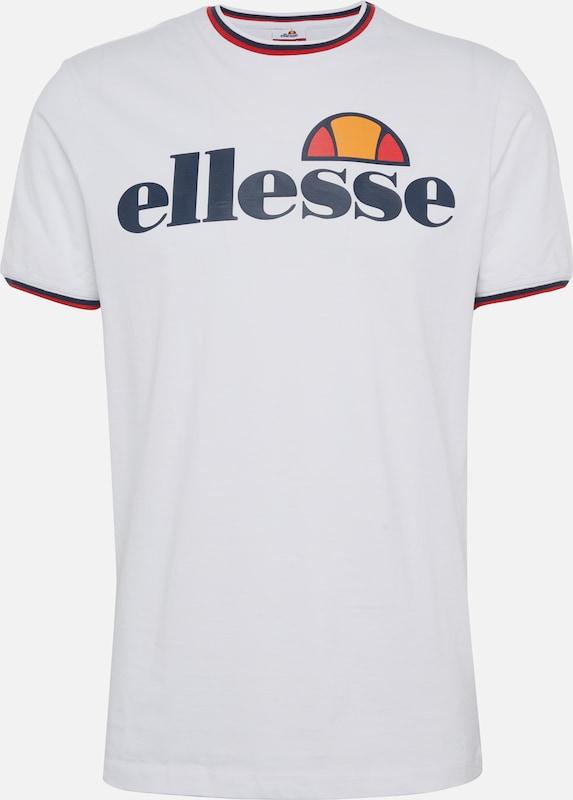 T En 'mangora' Blanc shirt Ellesse OXuPZki