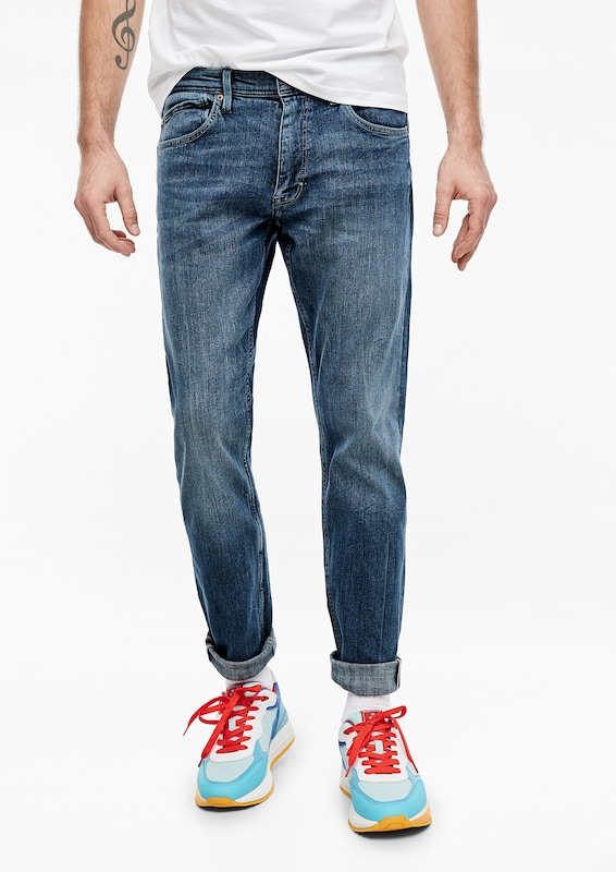 s.Oliver Jeans 'Keith' in blue denim, Modelansicht
