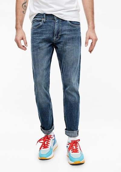 Jeans 'Keith' s.Oliver pe denim albastru, Vizualizare model
