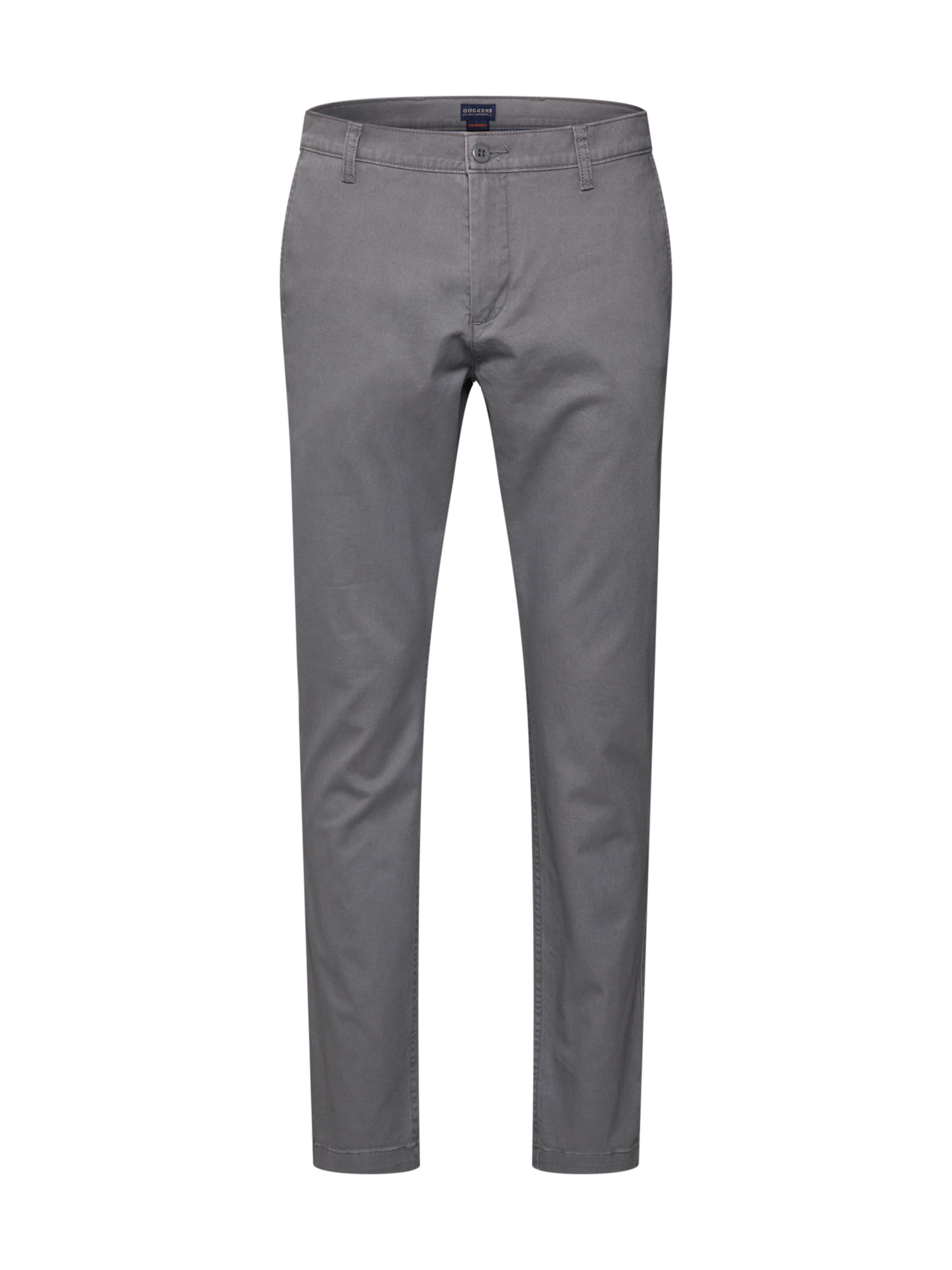 Khaki Grau Hose Twill' 'washed In Dockers SlimtaperedStretch Y7ybf6g