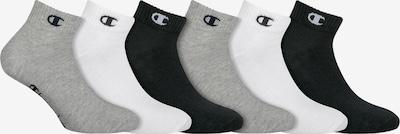 Champion Authentic Athletic Apparel Socken 'Legacy' in graumeliert / schwarz / weiß, Produktansicht