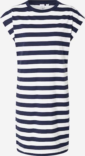 GAP Obleka 'SS TEE DRESS - STP'   mornarska / bela barva, Prikaz izdelka