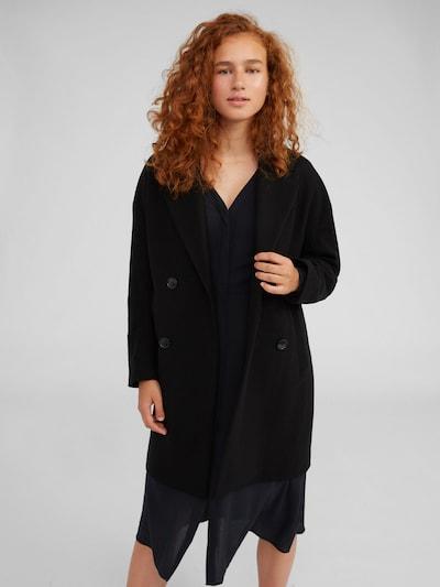 EDITED Tussenmantel 'Hanne' in de kleur Zwart, Modelweergave