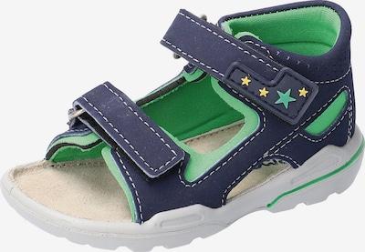 Pepino Sandale 'Manto' in marine / grün, Produktansicht