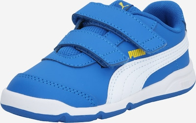 Sportiniai batai 'Stepfleex 2 SL VE V Inf' iš PUMA , spalva - mėlyna / geltona / balta, Prekių apžvalga