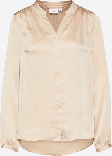 SAINT TROPEZ Bluse in beige, Produktansicht