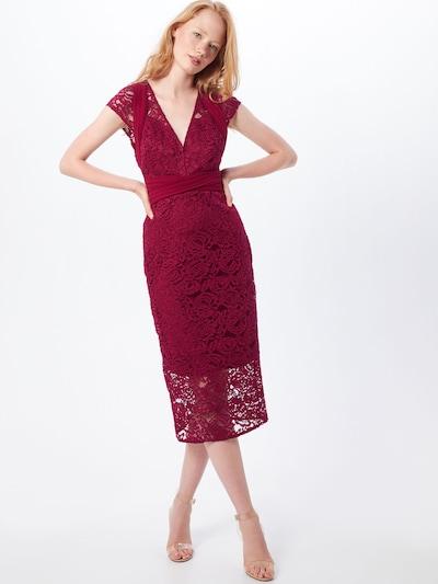 TFNC Kleid 'VERYAN  DRESS' in beere, Modelansicht