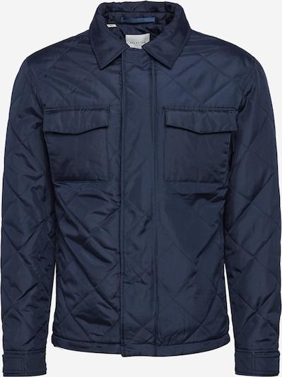 SELECTED HOMME Tussenjas 'Harvey' in de kleur Donkerblauw, Productweergave