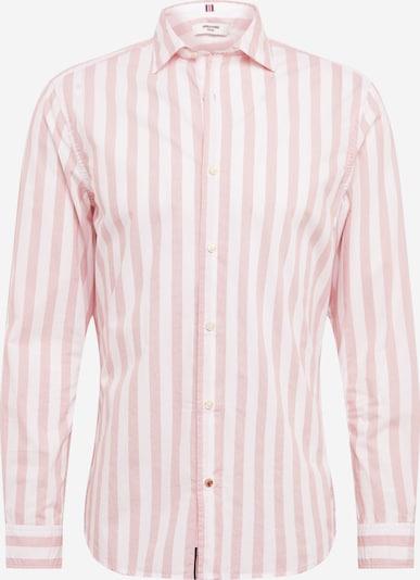 JACK & JONES Košeľa 'BLAPOX' - svetloružová / biela, Produkt